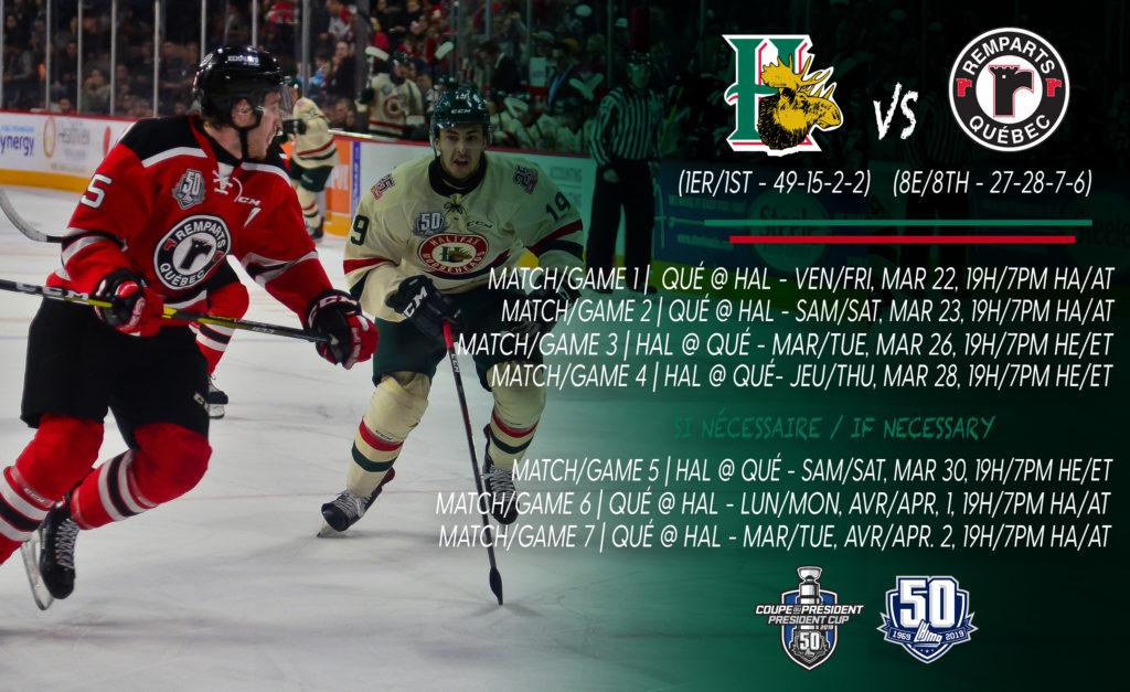 2019 Qplayoffs Series Preview Quebec Vs Halifax Qmjhl