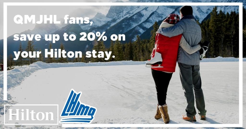 Hilton Partners With The Quebec Major Junior Hockey League Qmjhl