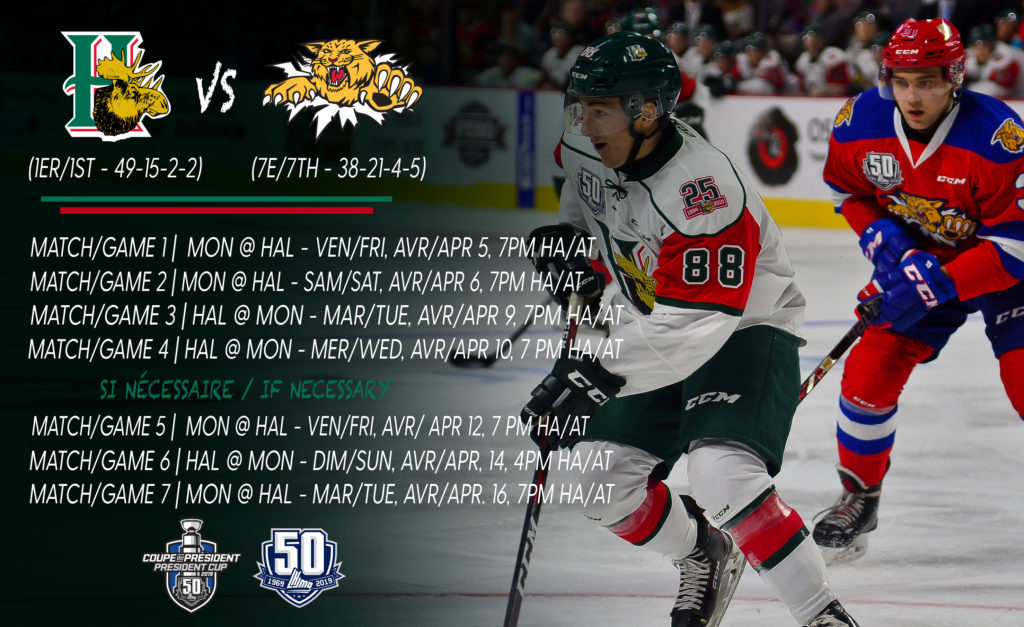 2019 Qplayoffs Series Preview Moncton Vs Halifax Qmjhl