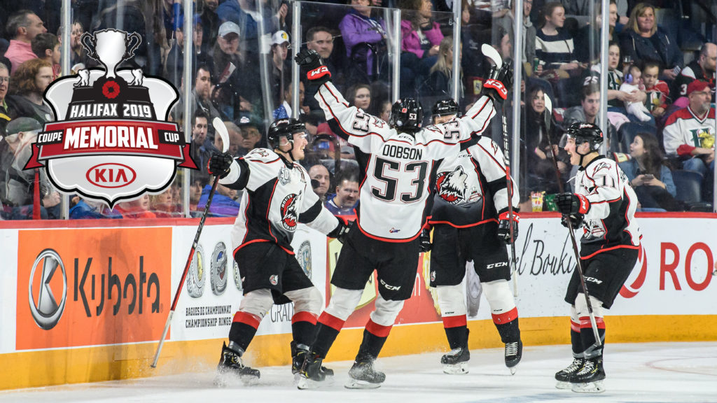 Huskies Win Semi Final And Face The Mooseheads For 2019 Memorial Cup
