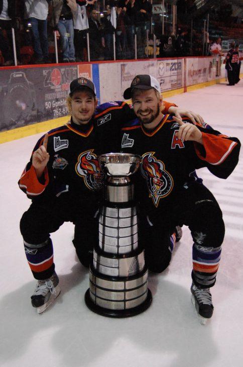 Paul Byron et Claude Giroux 2008