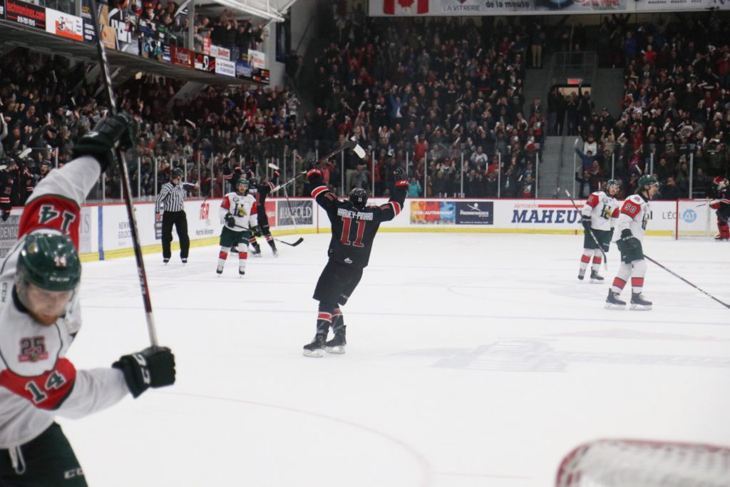 Rough Start The Difference In Game 5 For Halifax Halifax Mooseheads