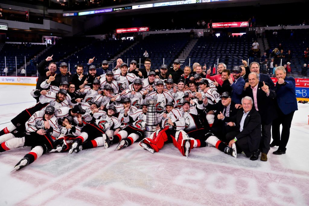 The Rouyn-Noranda Huskies are the 2018-19 QMJHL President Cup Champions
